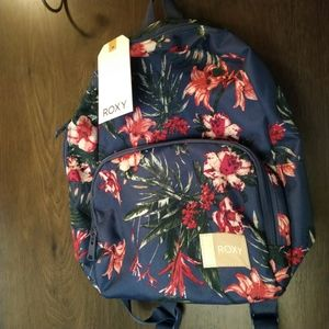 Roxy floral design backpack